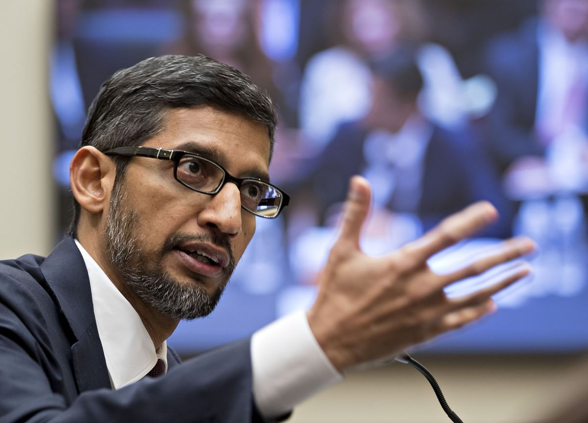 Google CEO Cites Long List of Search Rivals in Antitrust Defense