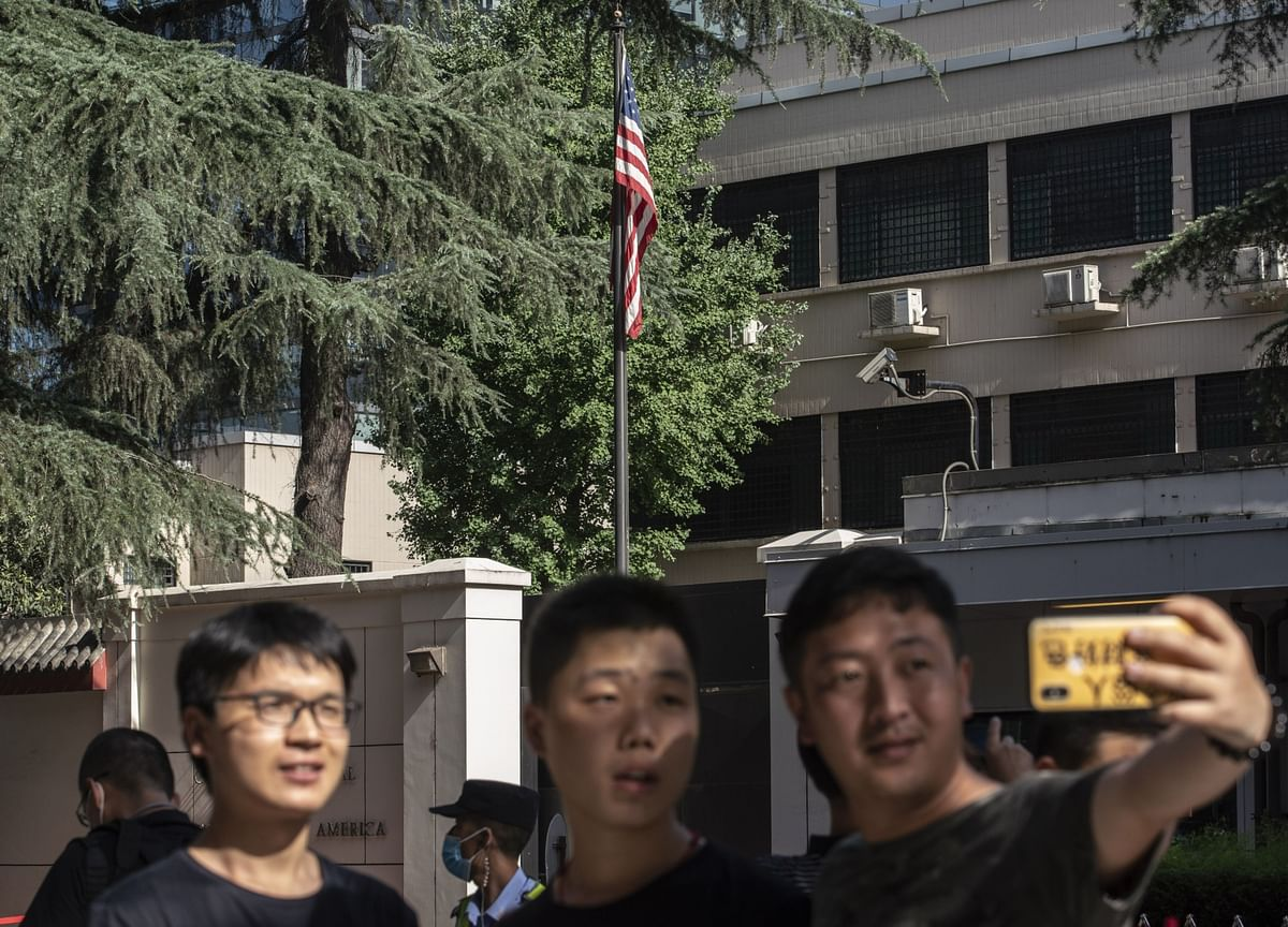 Shutdown of America's Chengdu Consulate Caps Week of China Tensions