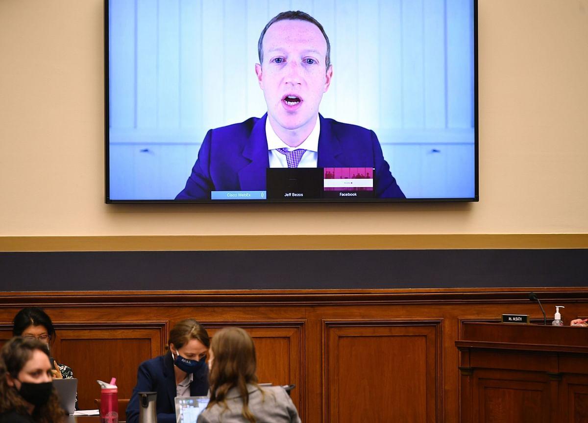 Zuckerberg Goes Off-Script, Blasts Apple and Google in Testimony