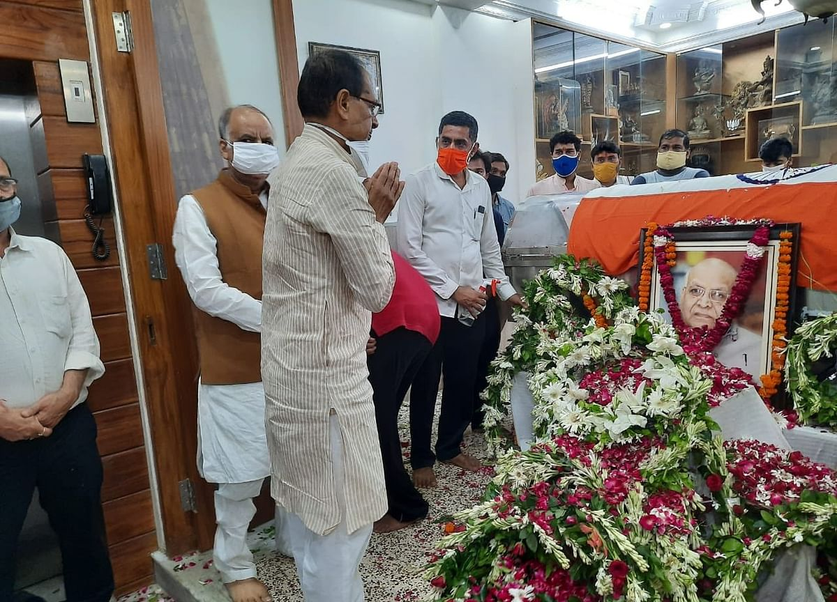 Madhya Pradesh Governor Lalji Tandon Dies At 85