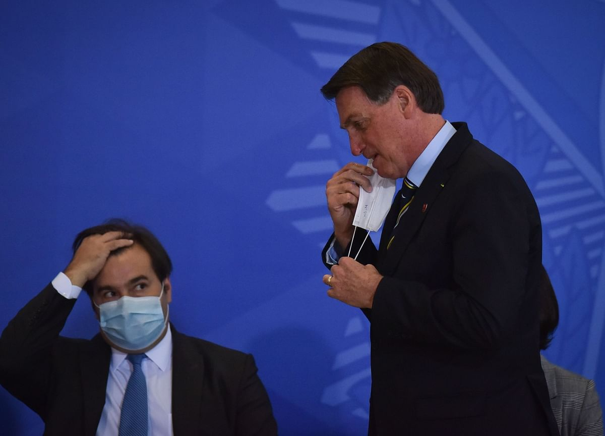 Bolsonaro Tests Positive for Covid-19 With Virus Ravaging Brazil