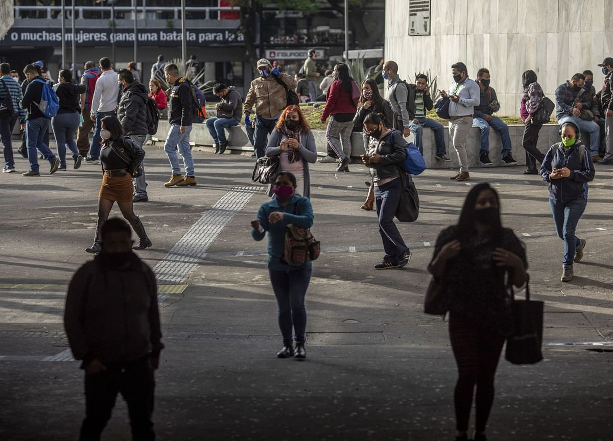Mexico Reports Record Rise in Virus Cases for Second Day in Row