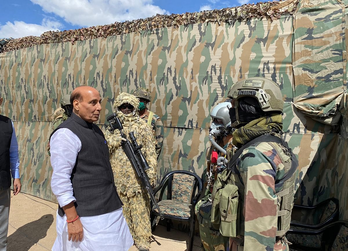 India Not A Weak Country, No One Can Touch Even An Inch Of Land: Rajnath Singh In Ladakh