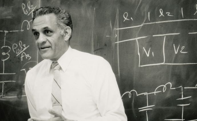 Amar Bose served on the MIT faculty for 45 years. (Image courtesy: Bose Corporation, MIT)
