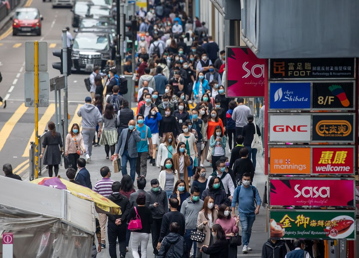 Hong Kong Faces Worst Wave of Virus, But It Can't Lock Down