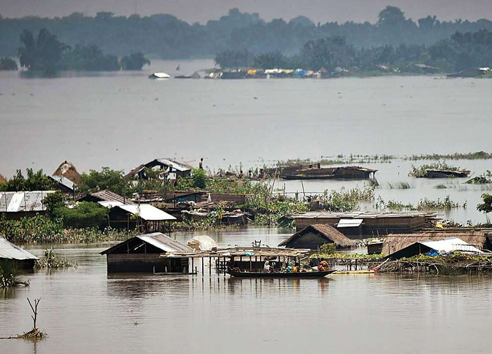 One More Person Dies In Assam Floods, Over 24 Lakh People Hit