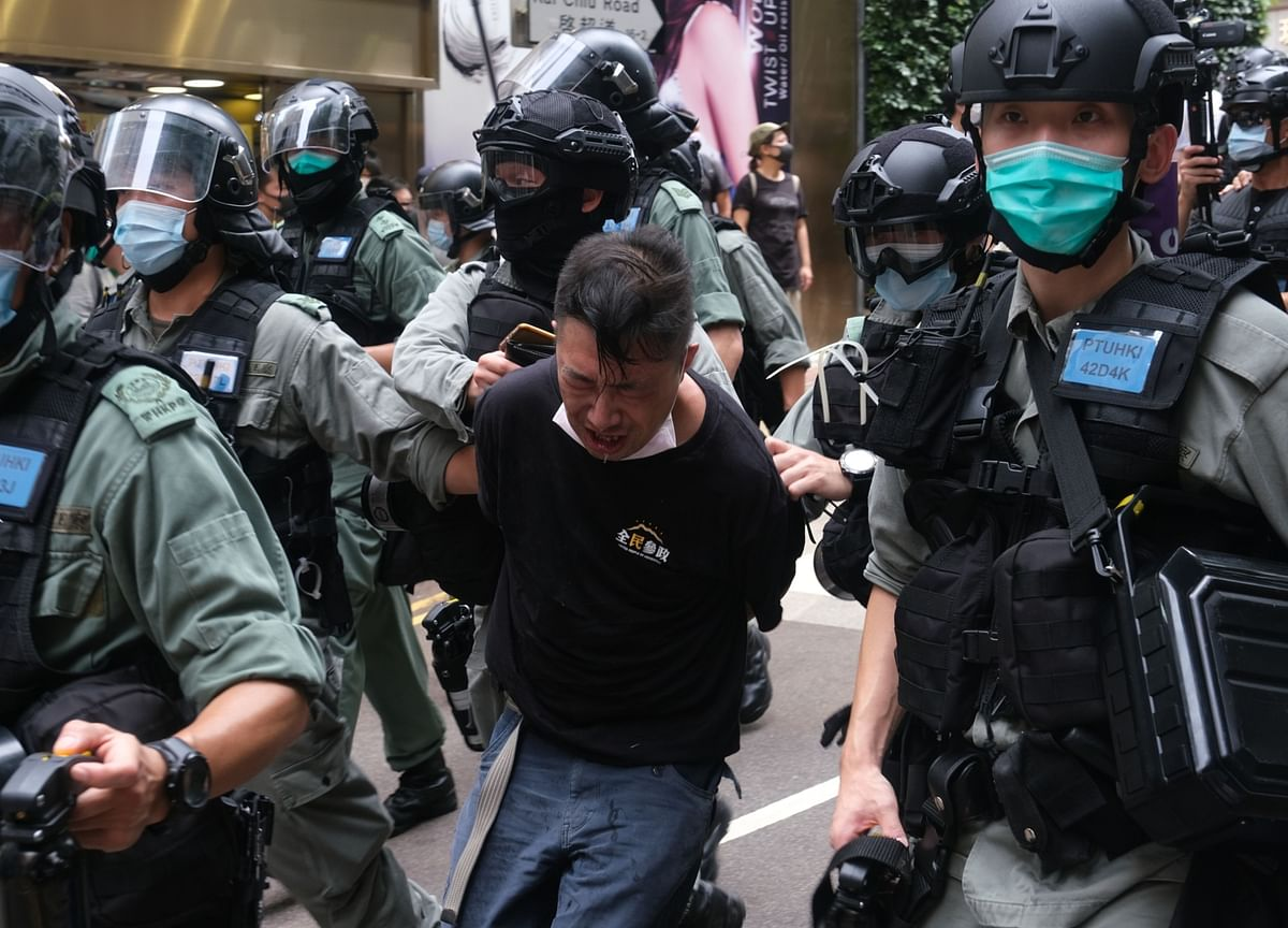 Hong Kong Faces Arrests, Confusion, Despair After China Shock