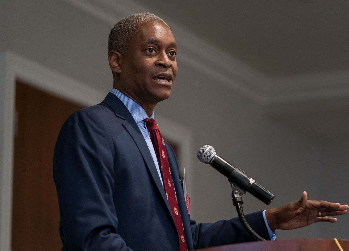 Fed's Bostic Says Softening U.S. Data May Call for More Action