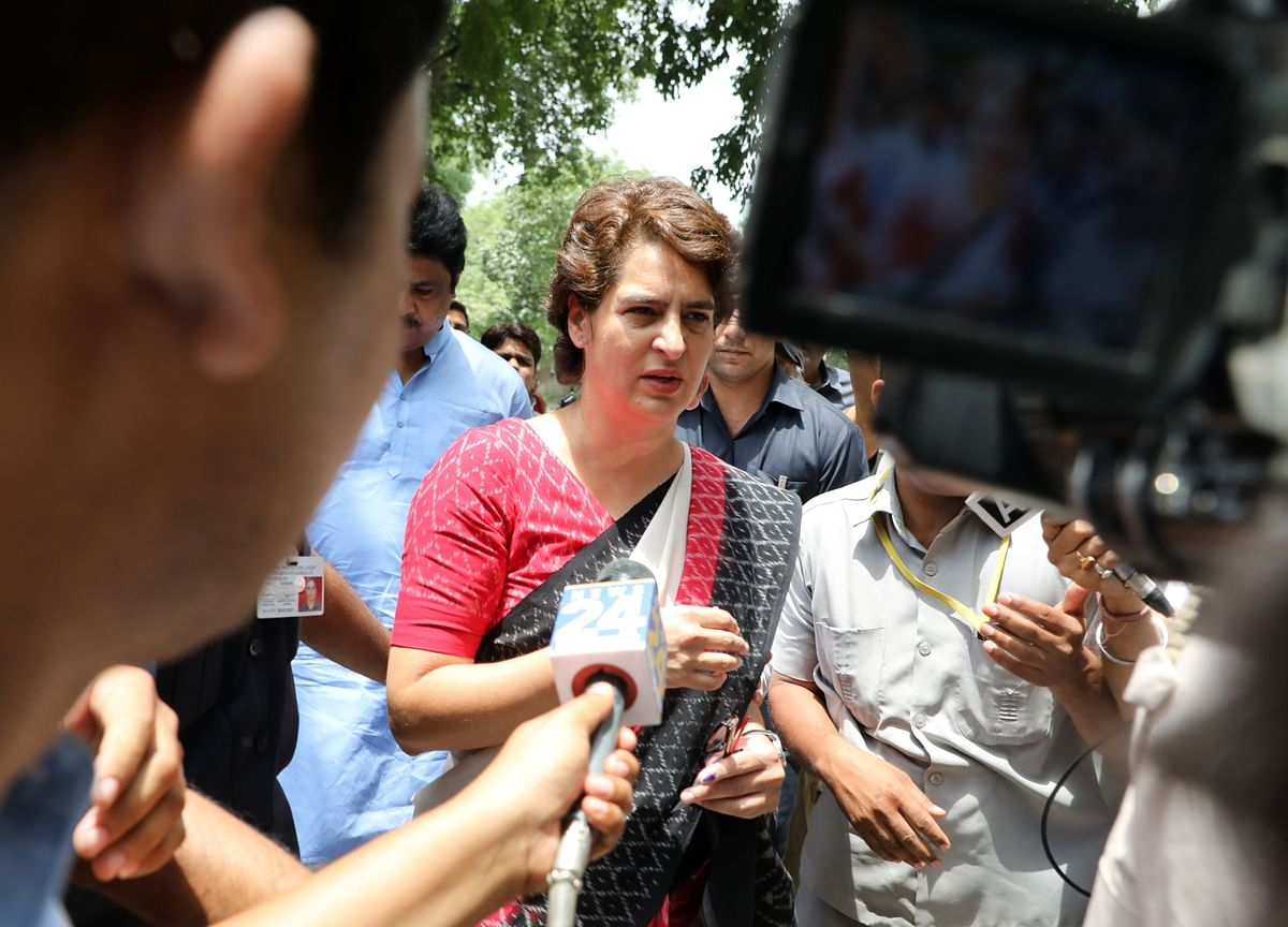Government Asks Priyanka Gandhi To Vacate Bungalow By Aug. 1 Citing Withdrawal Of SPG Cover