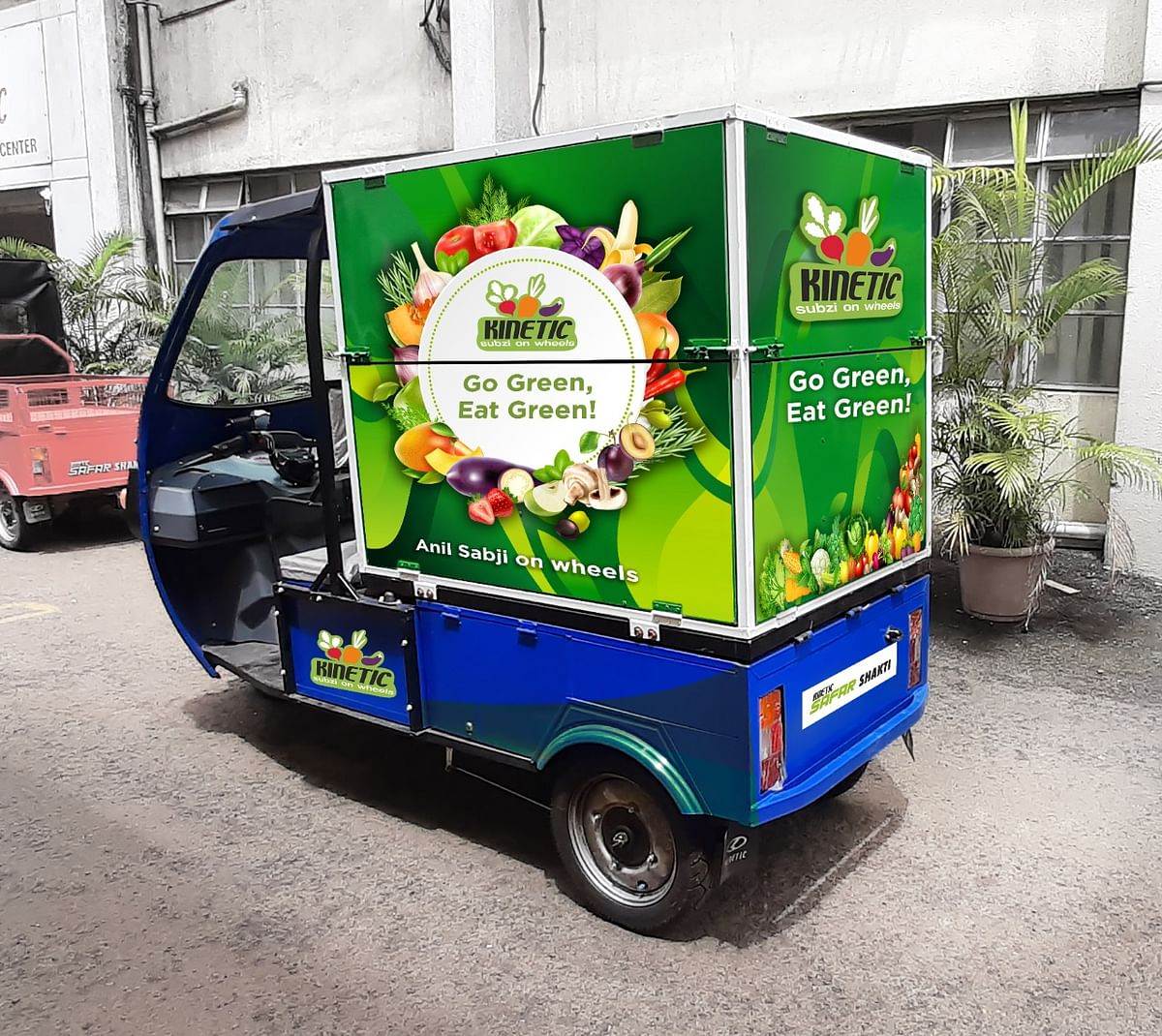 Kinetic Green has launched E-sabji Auto carts. (Source: Kinetic Green )