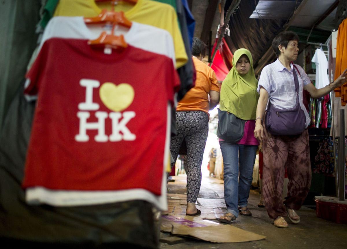Fresh Virus Wave Worsens Hong Kong's Already Disastrous Outlook