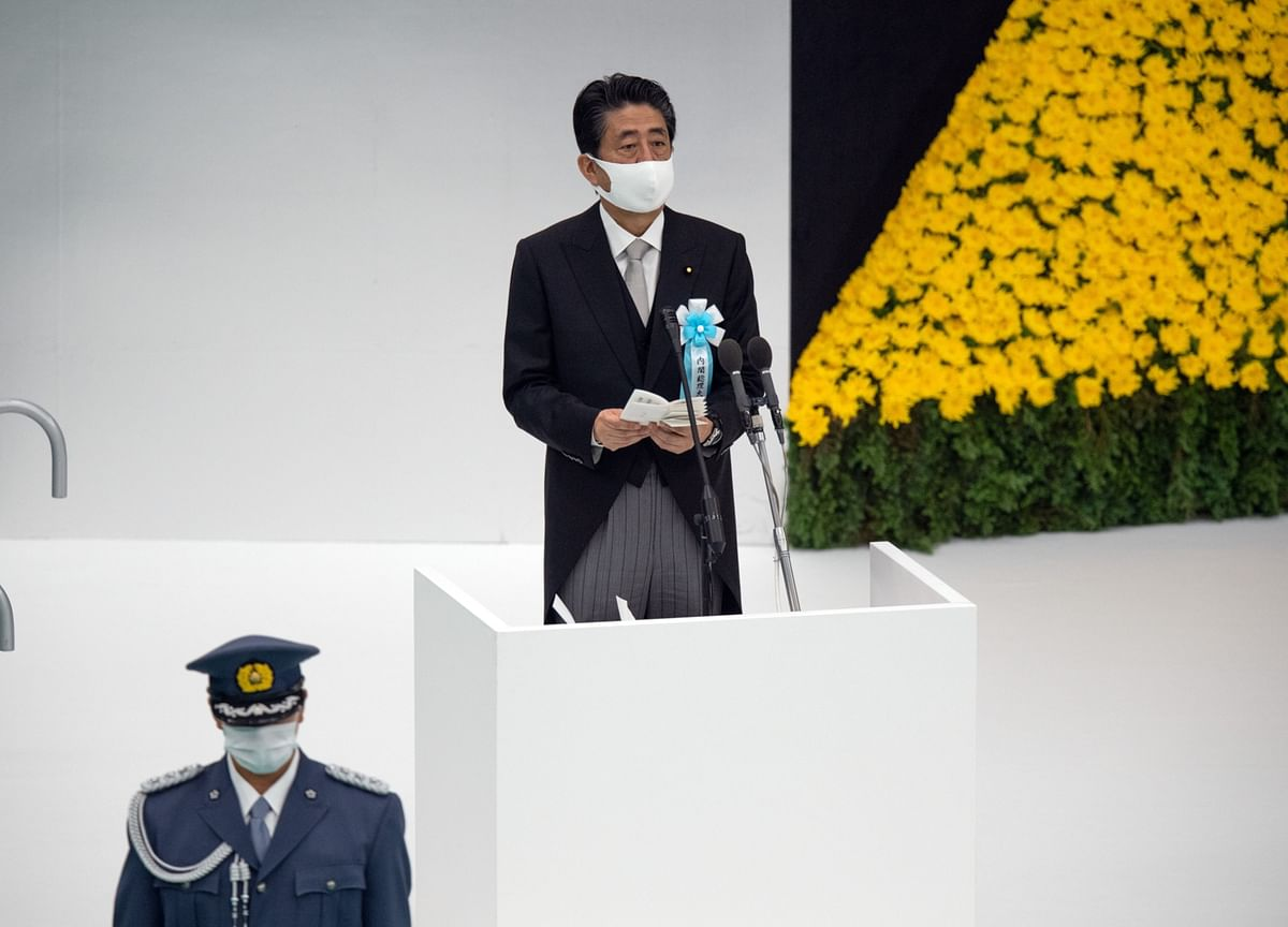 Japan's Abe Returns to Work After Unexpected Hospital Visit