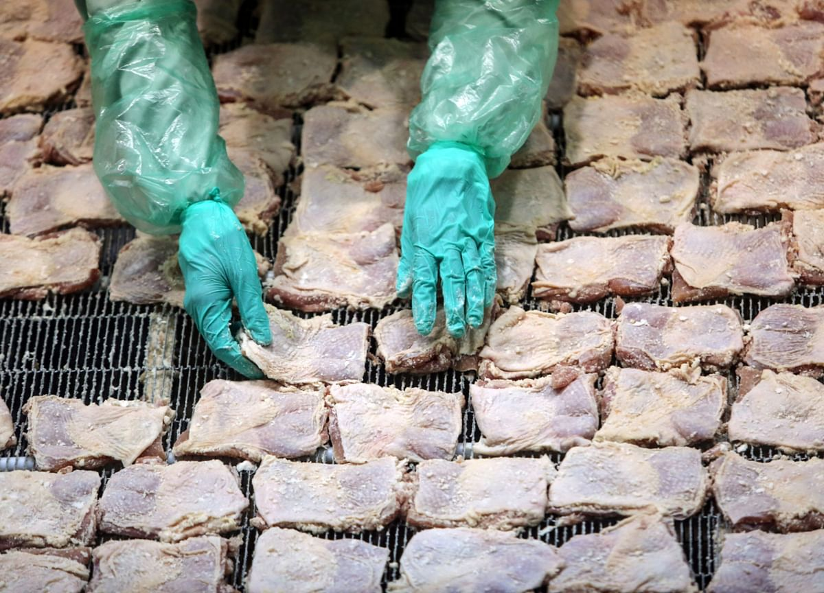 ChinaSays Frozen Chicken Wings from Brazil Test Positive for Virus