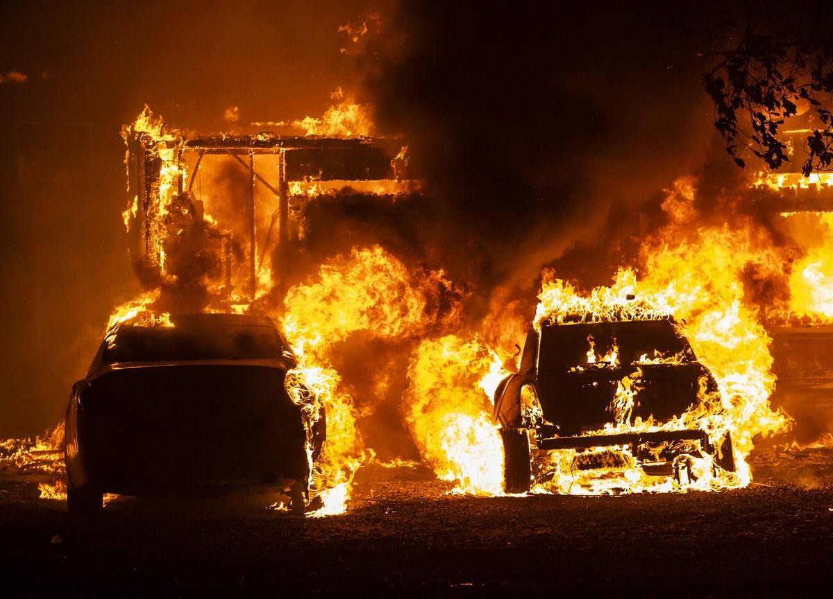 San Francisco Virus Refugees Return From Napa as Wildfires Rage