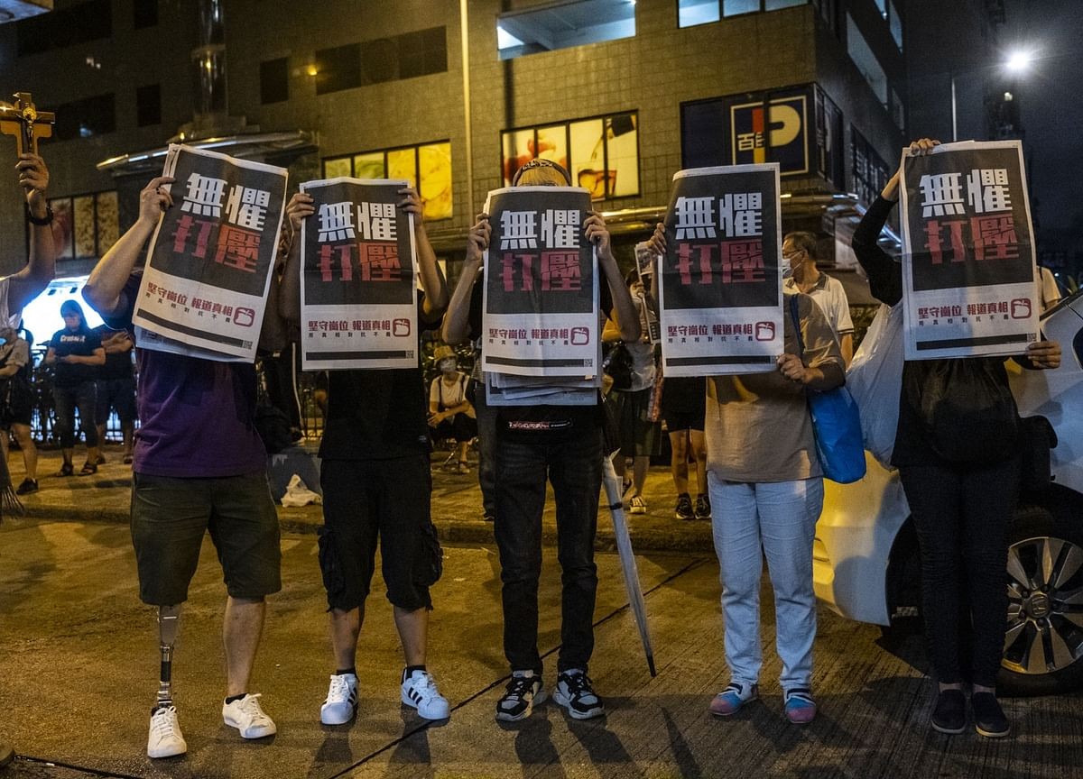 Lai's Arrest Shows Why the West Lost Faith in Hong Kong Courts
