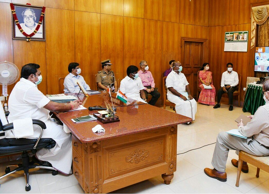 PM Modi's Virtual Meet On Covid-19: Tamil Nadu Chief Minister Urges Centre To Share 50% RT-PCR Test Cost