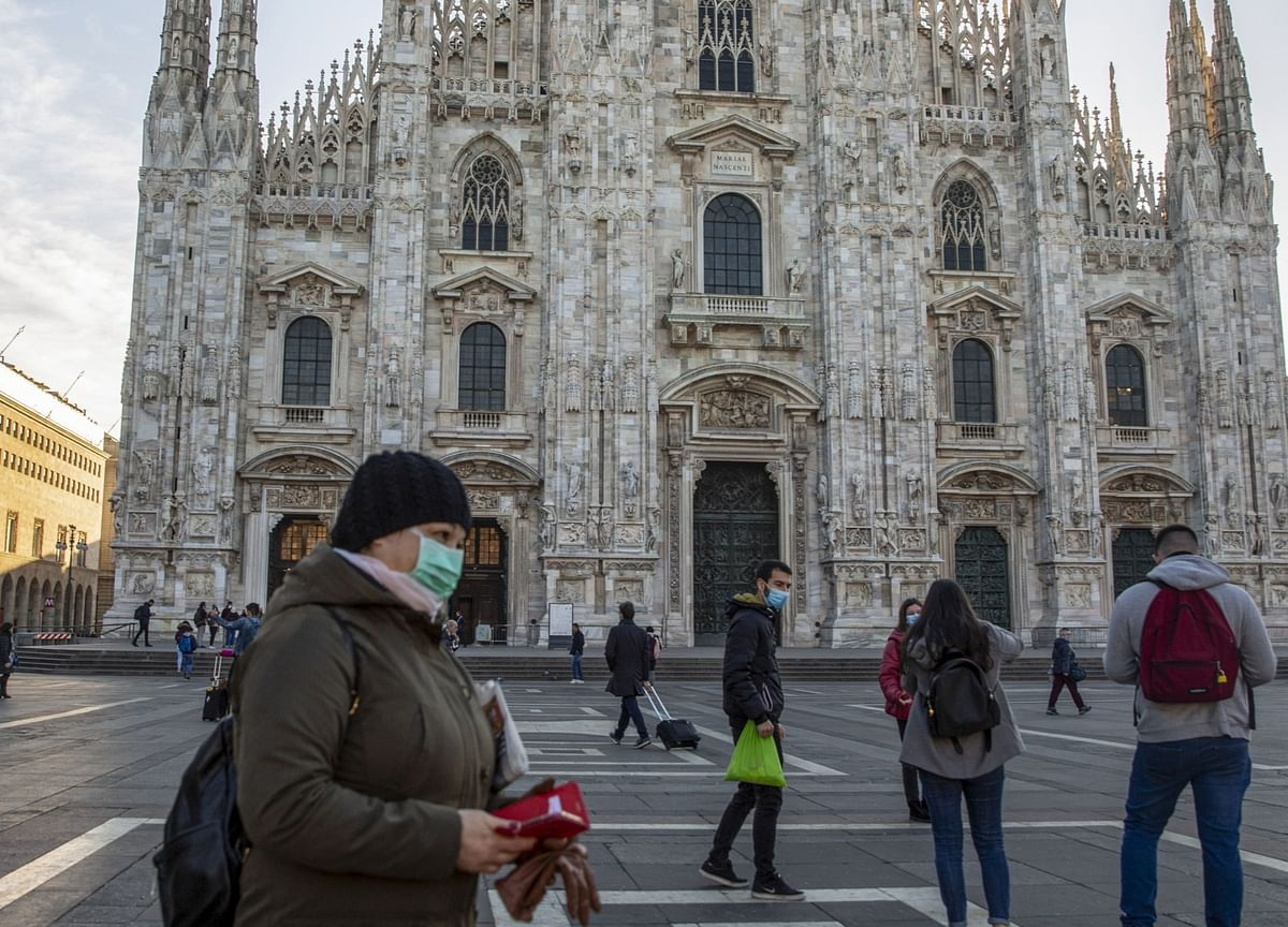 Italy Lockdown Success Challenged by New Europe Virus Surge