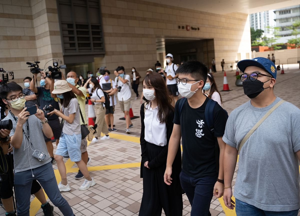 Hong Kong Charges Joshua Wong, Activists Over Tiananmen Vigil