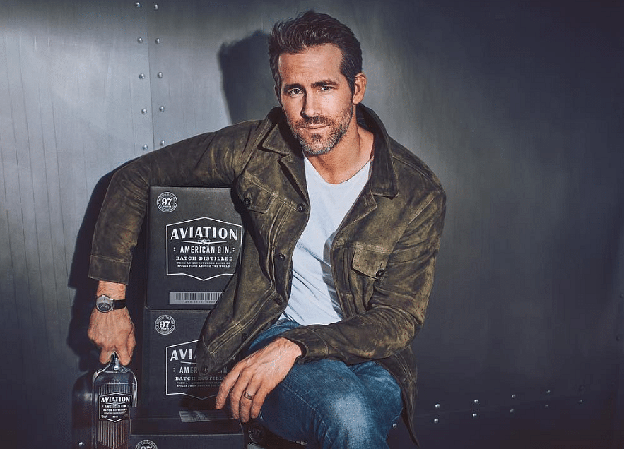 Diageo to Buy Aviation Gin, Backed by Actor Ryan Reynolds
