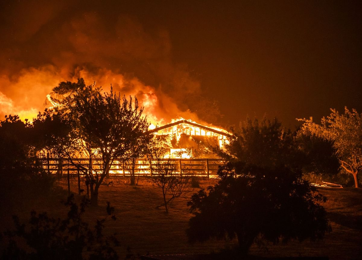 Wildfires Raging in California Escalate Crises for State