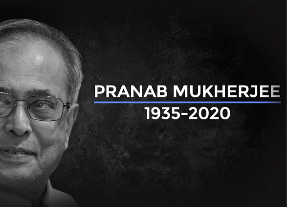 Mukherjee, Ex-Finance Chief Who Became India President, Dies