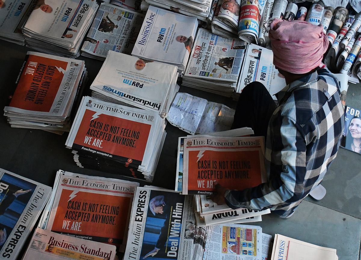 Times of India Publisher Mulls Minority Stake Sale in Internet Unit