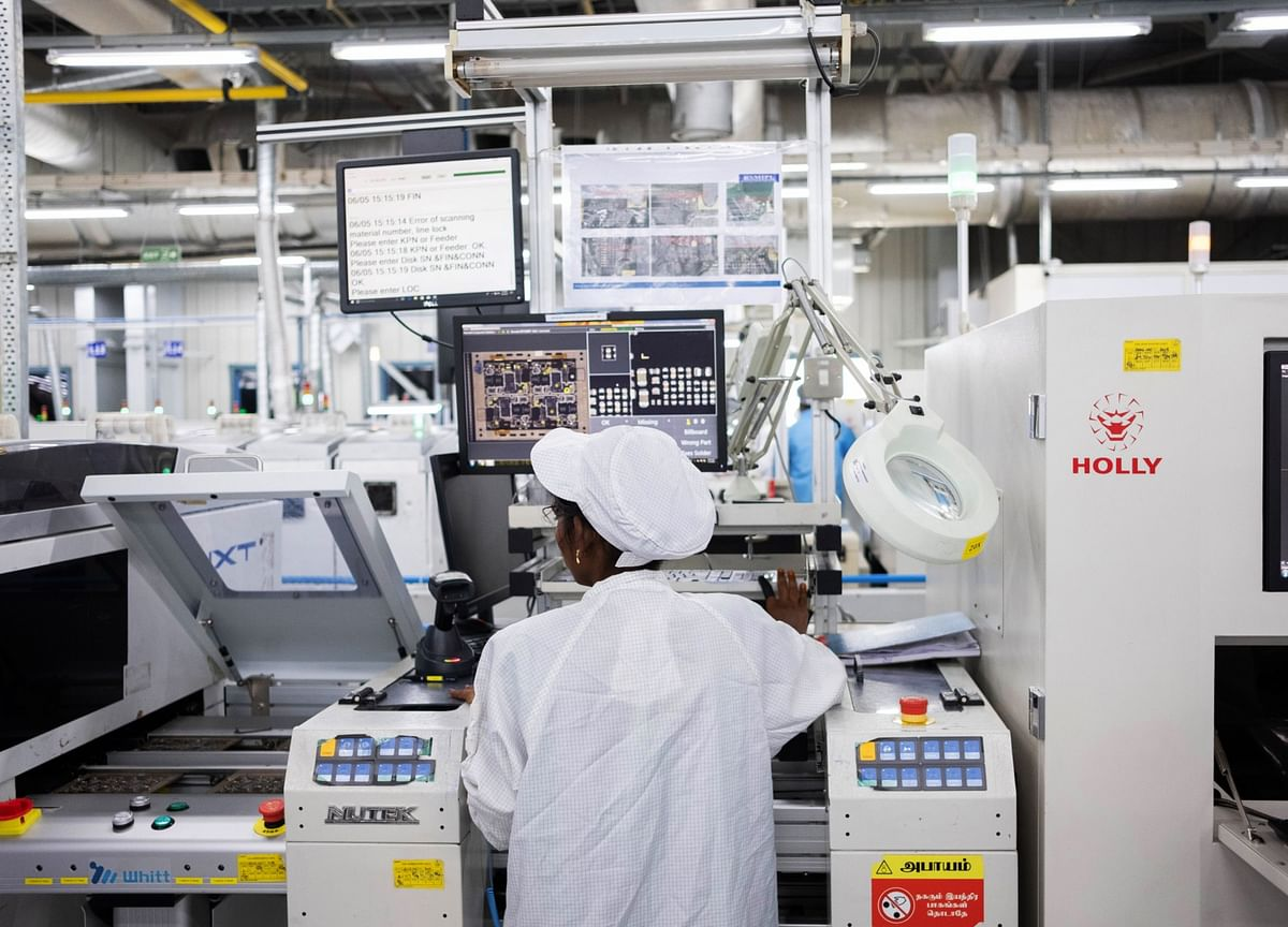 India Shortlists 16 Firms For Incentives To Boost Electronics Manufacturing