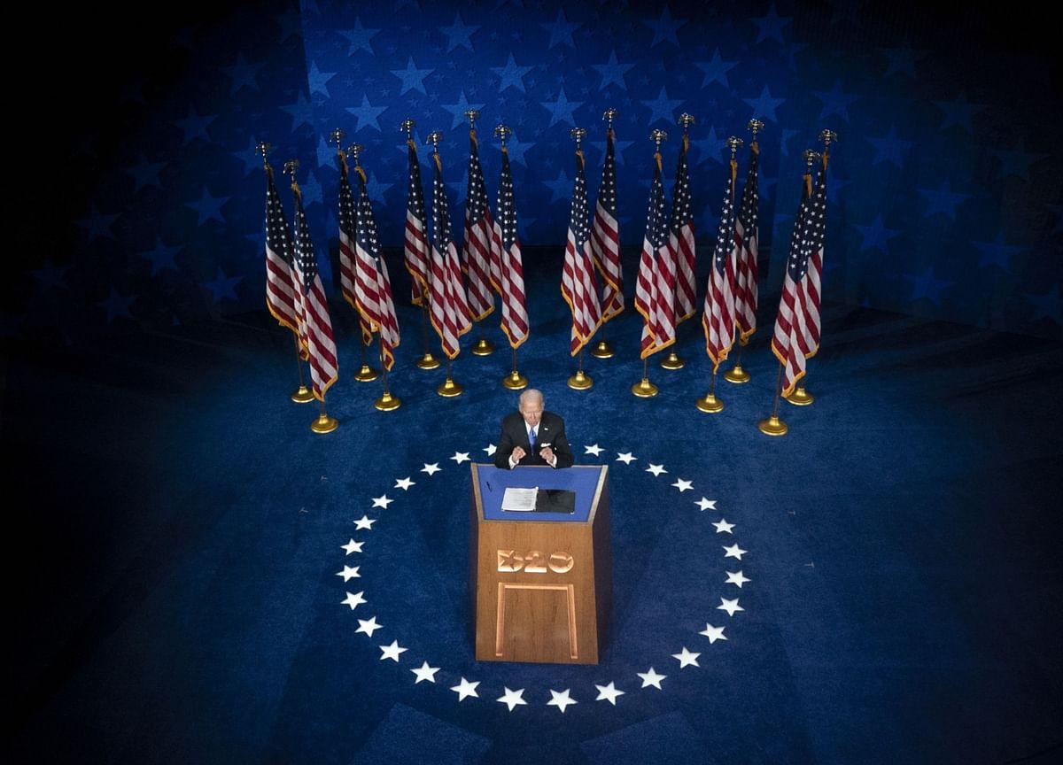 Biden's SpeechPlayed to His Advantage