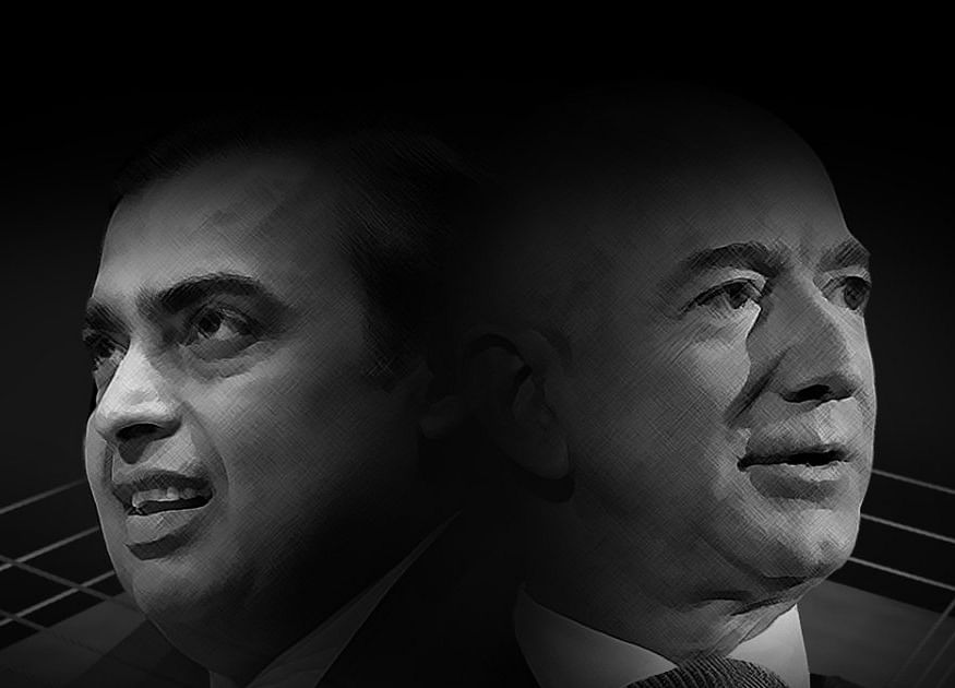 Amazon and Ambani's Jio Are Spoiling for an Epic India Fight
