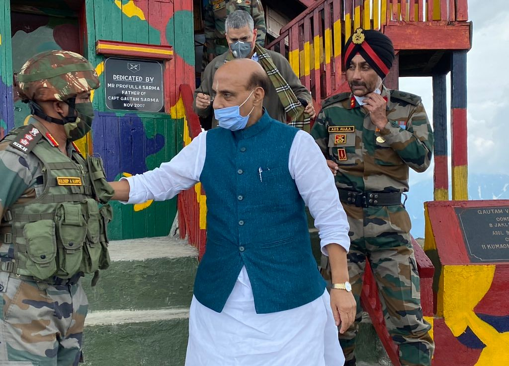 Rajnath Singh Likely To Meet Chinese Defence Minister In Moscow Today
