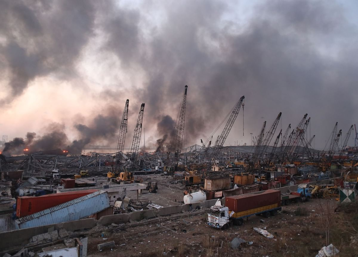 Beirut Blast Blamed on Chemical Cargo Removed From Ship in 2014