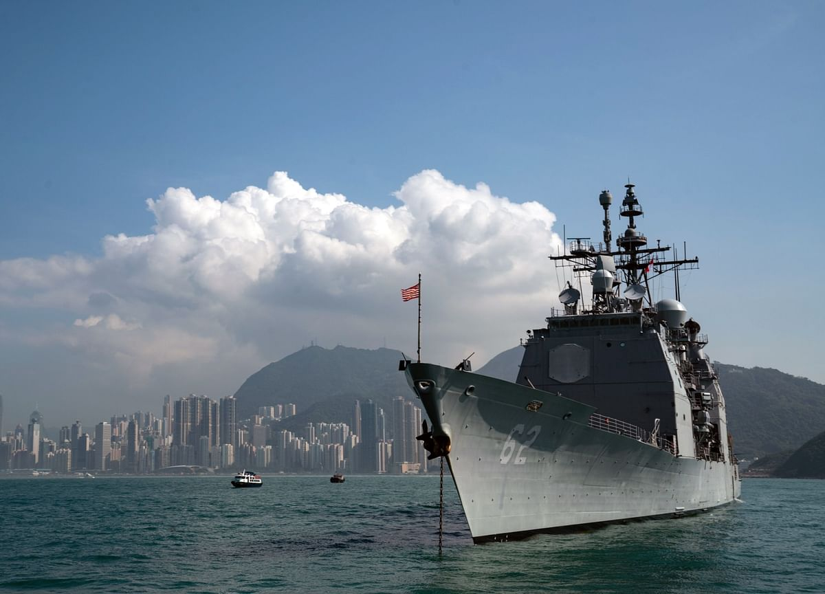 China'sMissilesWarn U.S. Aircraft Carriers to Stay Away