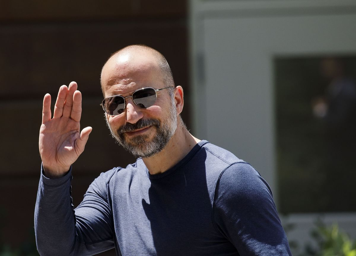 Uber CEO Sees Ride-Hailing Rebounding Faster Than Other Transit