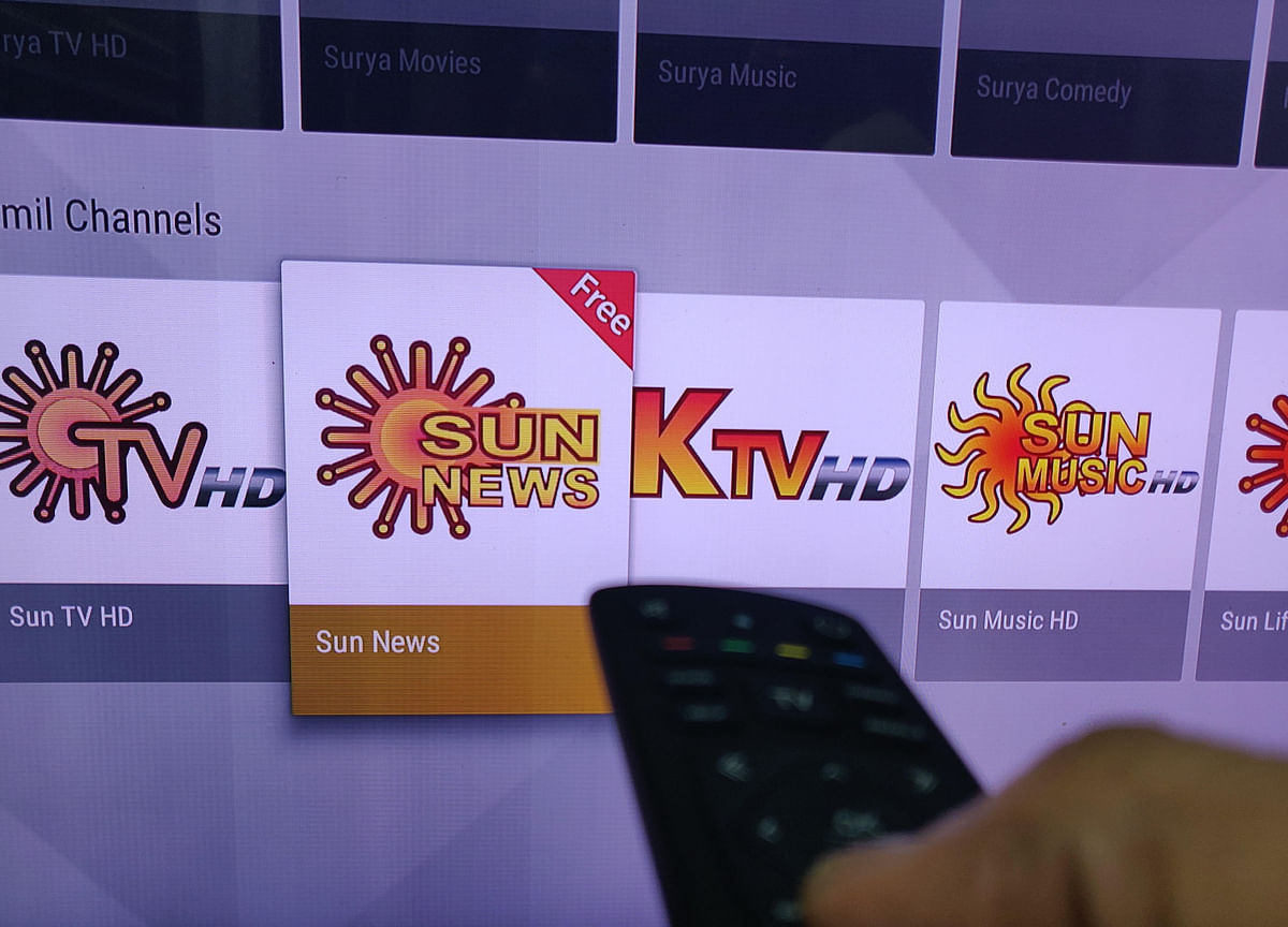Sun TV Shares Fall On A Drop In Advertising Revenue
