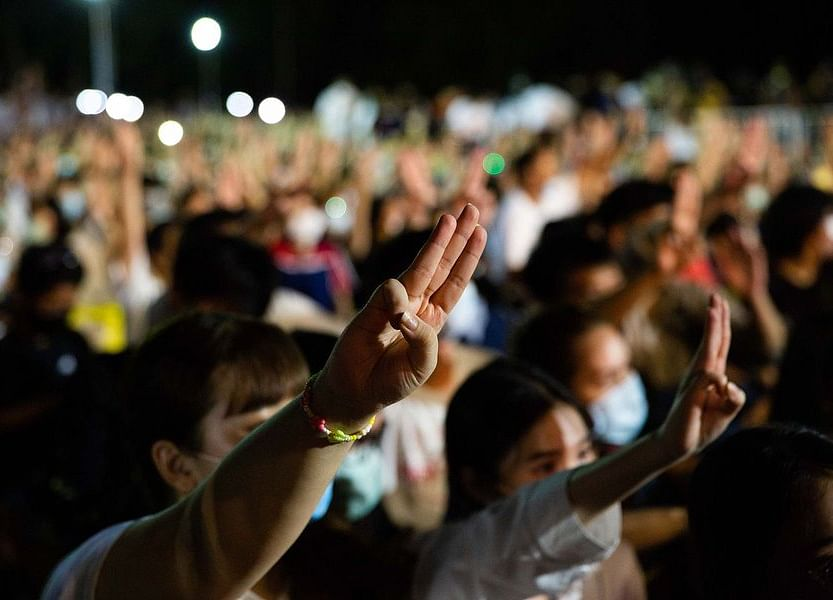 Thailand's Protesters Stray Into Taboo Territory