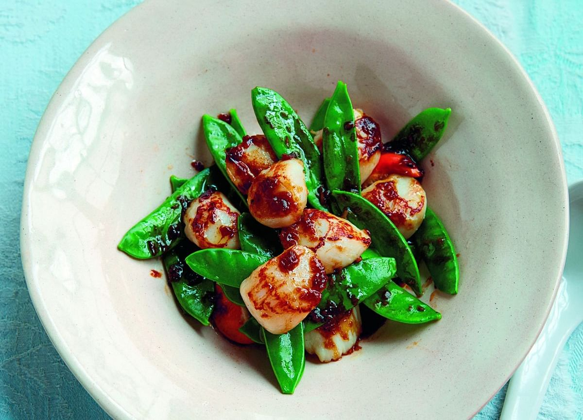 ASimple Recipe forOyster-Sauce Scallops to Make at Home