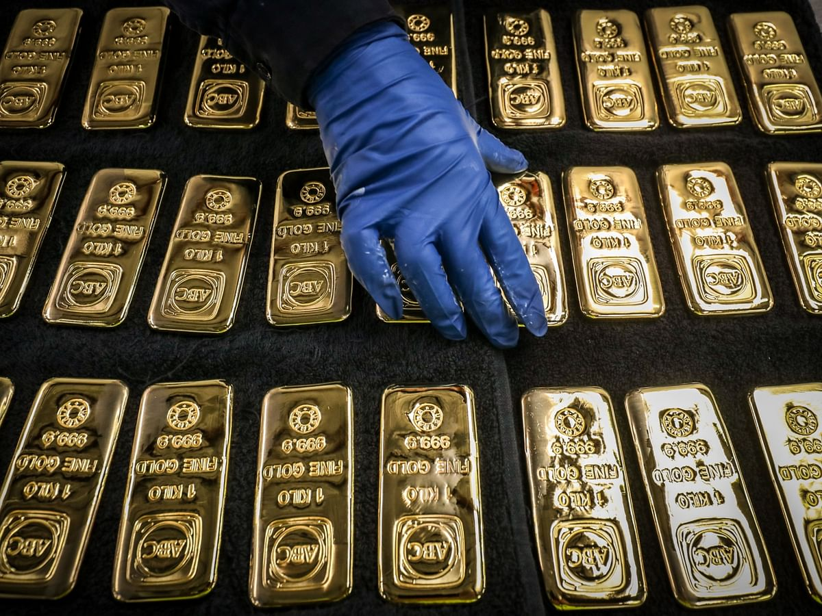 Gold Heads For Biggest Drop In Seven Years On Rising U.S. Yields