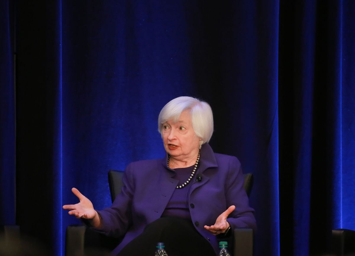 Ex-Fed Chief Yellen Defends Rate Increases Under Her Watch