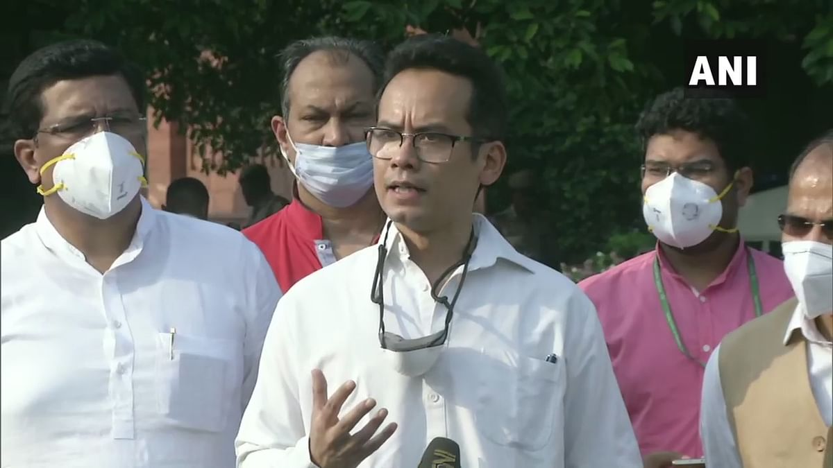 Gaurav Gogoi, deputy leader of the Congress in the Lok Sabha. (Photo: ANI)