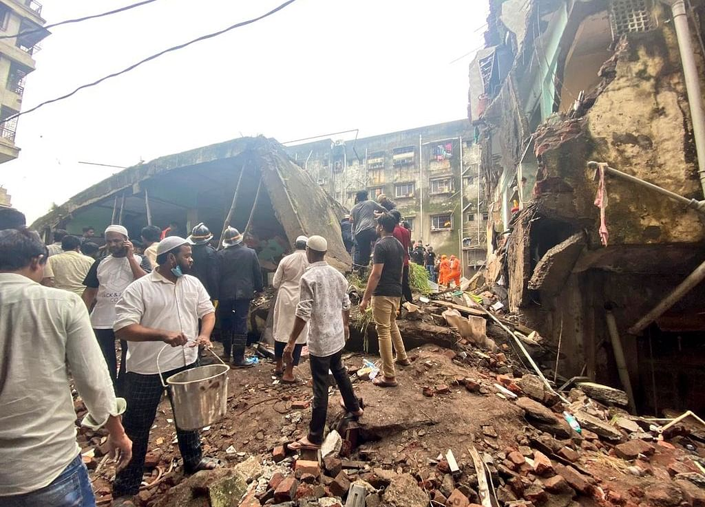 Maharashtra: Death Toll In Bhiwandi Building Collapse Rises To 25