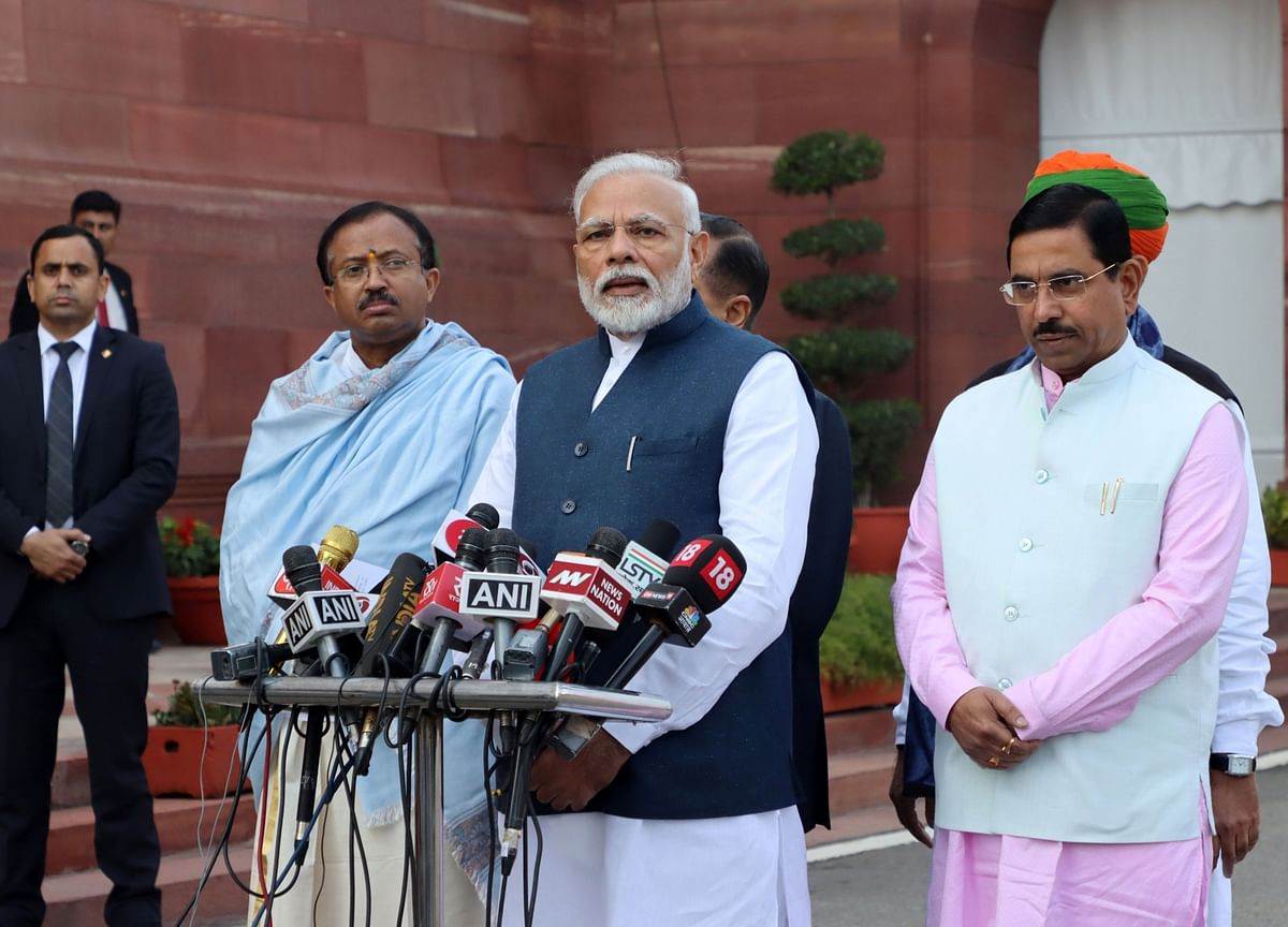 PM Modi Reviews Covid-19 Situation With Chief Ministers, Representatives Of Seven States With High Case Load