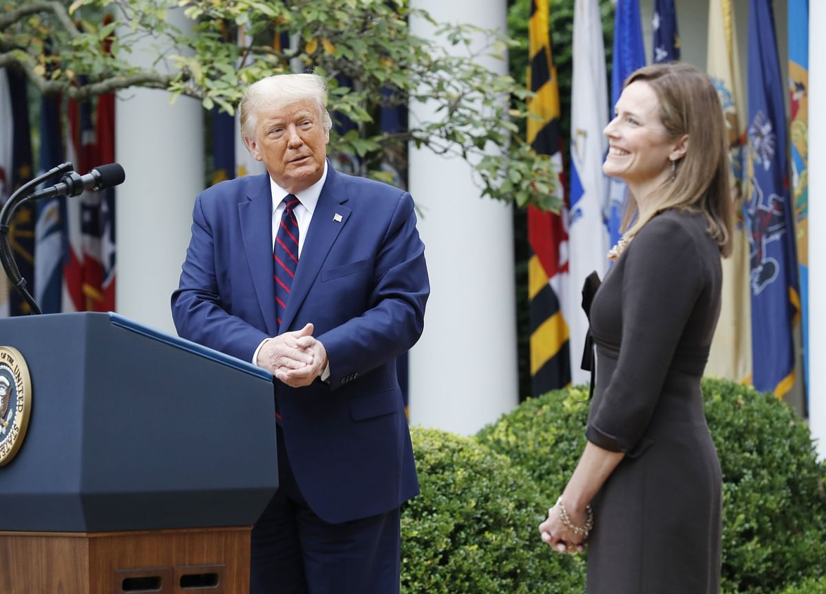 Amy Coney Barrett Picked by Trump to Push Court to Right