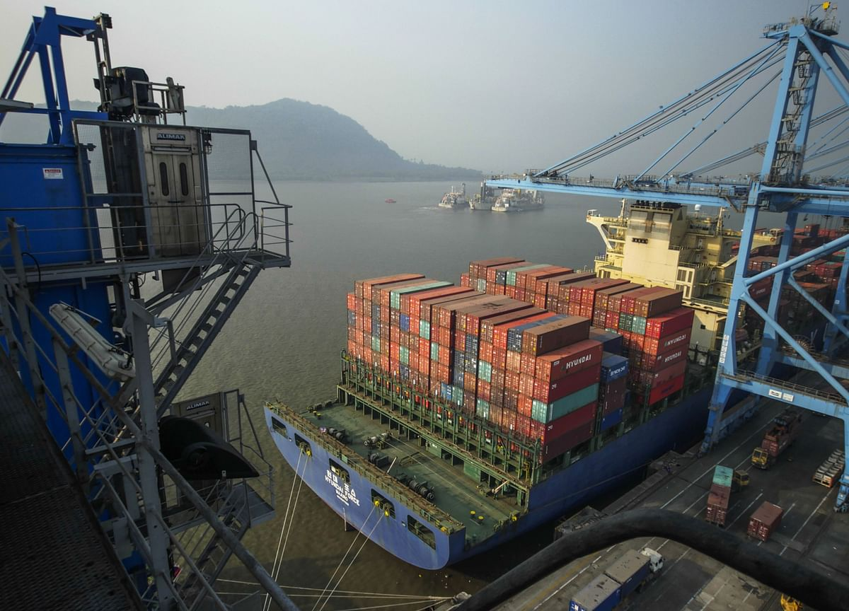 India's Trade Deficit Widens In August As Exports Contract Further