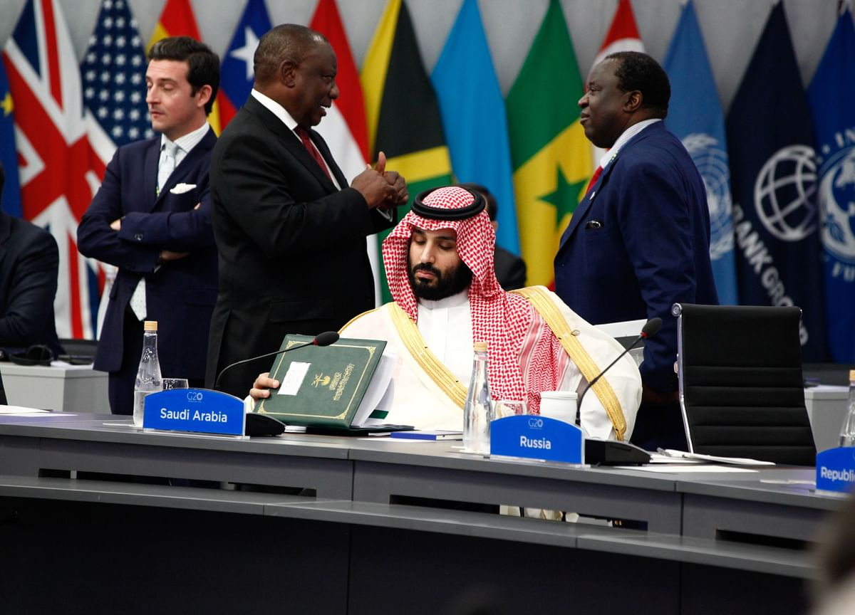 G-20 Leaders' Summit, Set for Riyadh, to Now Be Held 'Virtually'