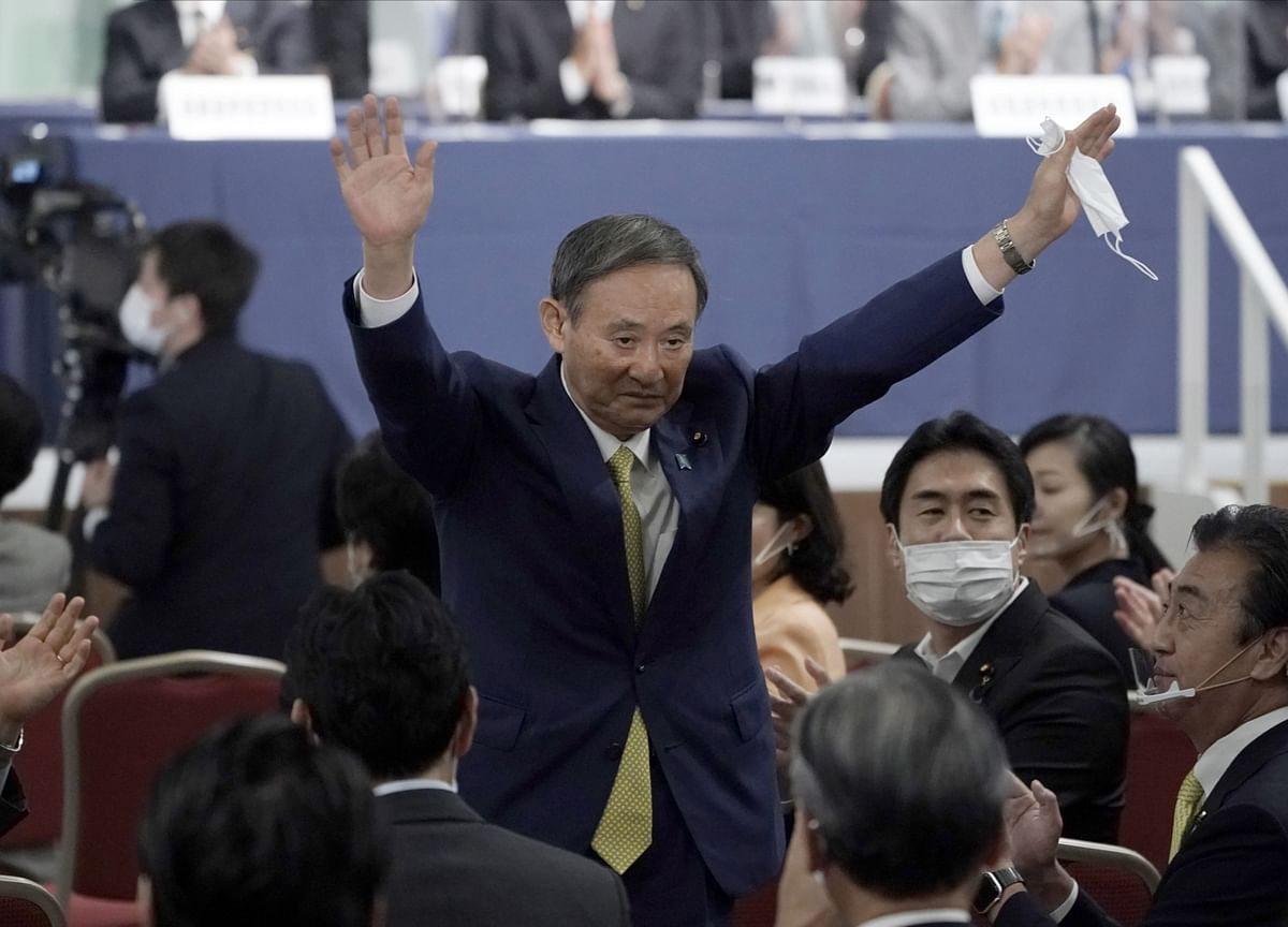 Japan's Suga Wins Ruling Party Race to Replace Premier Abe