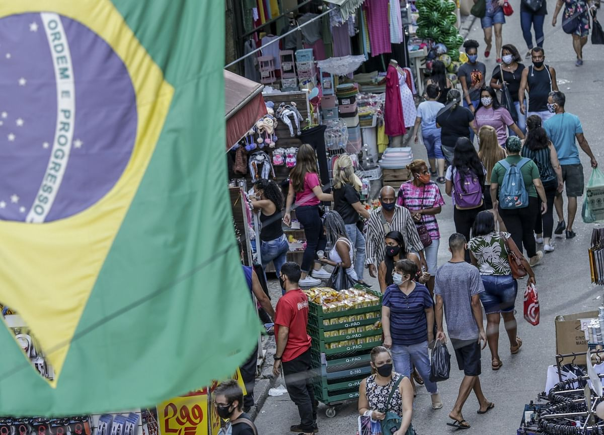 Brazil Hits 4 Million Covid Cases While Life Gets Back to Normal