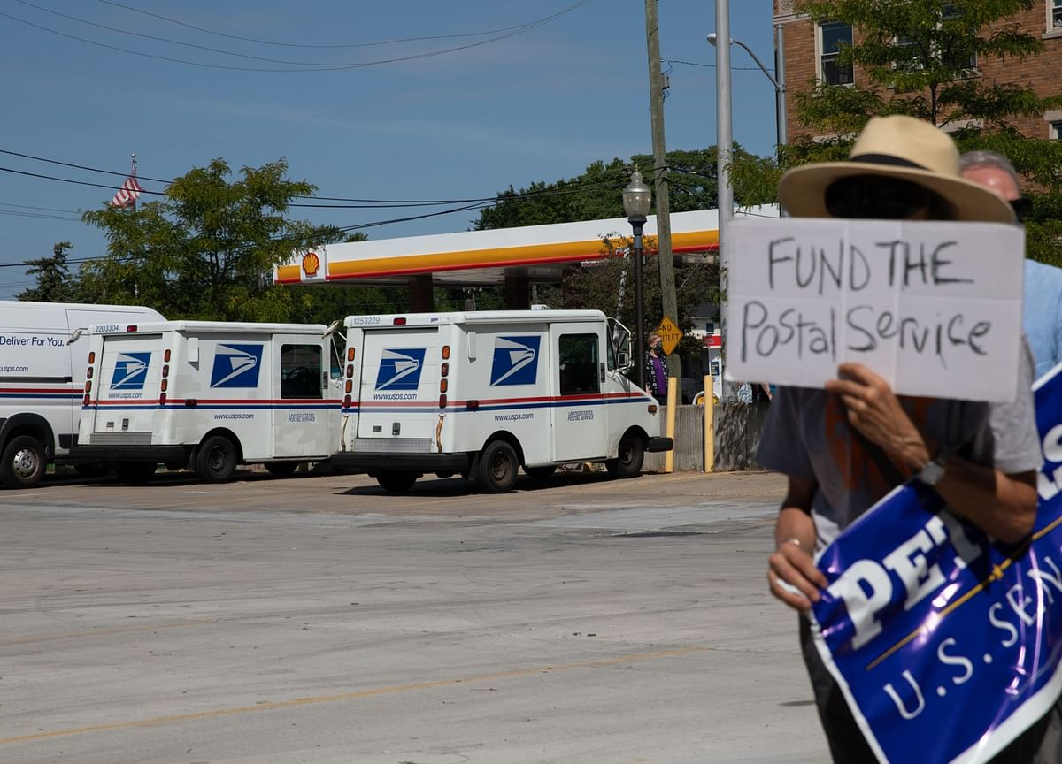 DeJoy Has a Plan for the USPS, and the Election Got In the Way