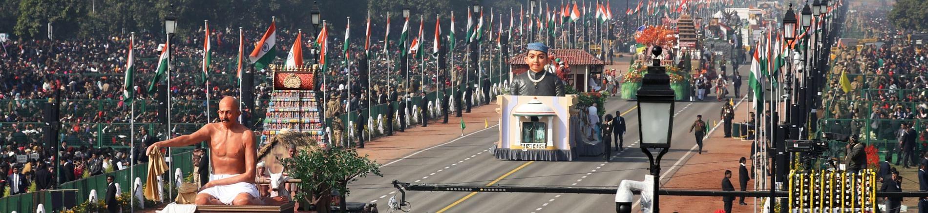 NSG commandos, CRPF tableau part of Republic Day parade 2021