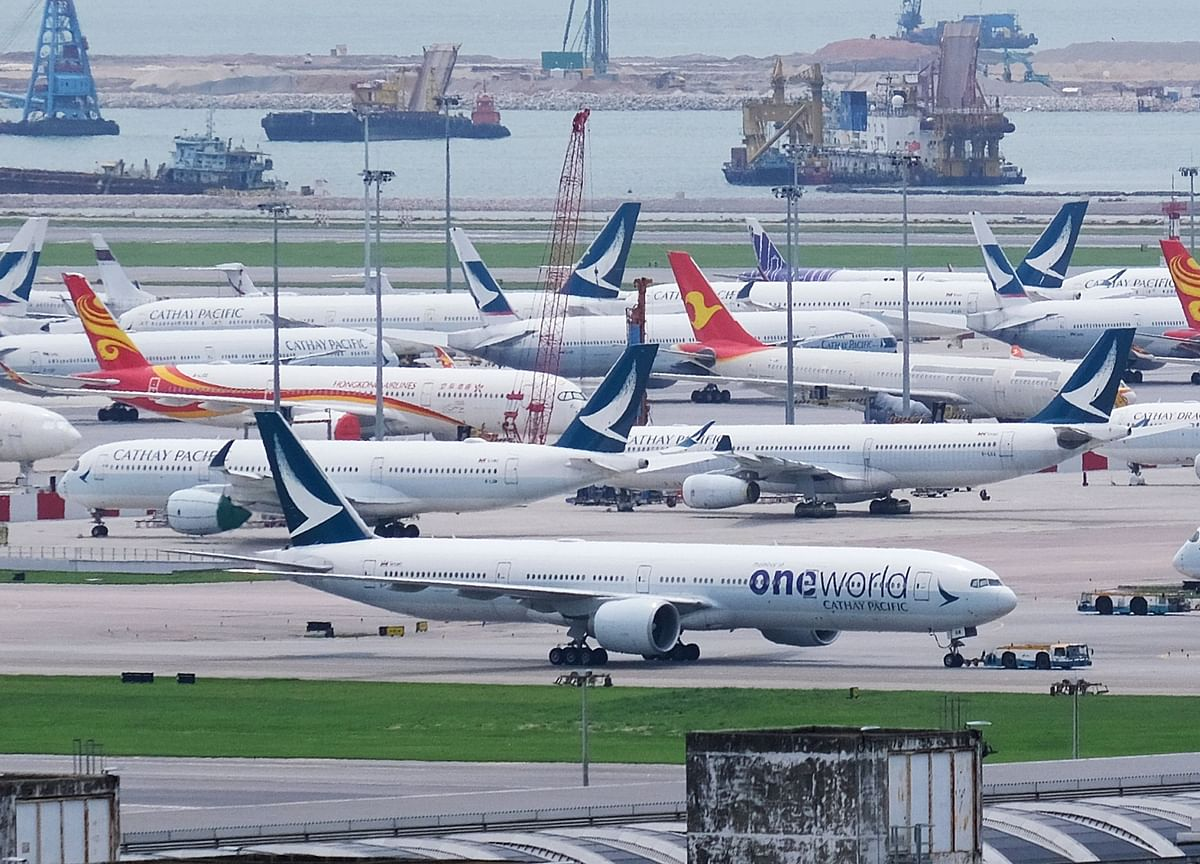 Cathay Pacific Flies Fewer Than 600 Passengers a Day on Average