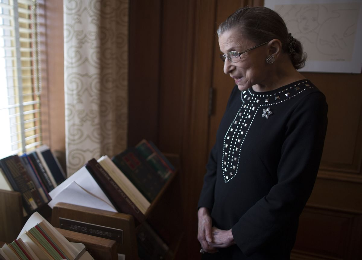 Ruth Bader Ginsburg, Second Woman on Supreme Court, Dies at 87